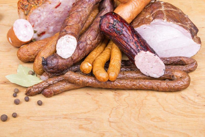 Produtos de carne foto de stock