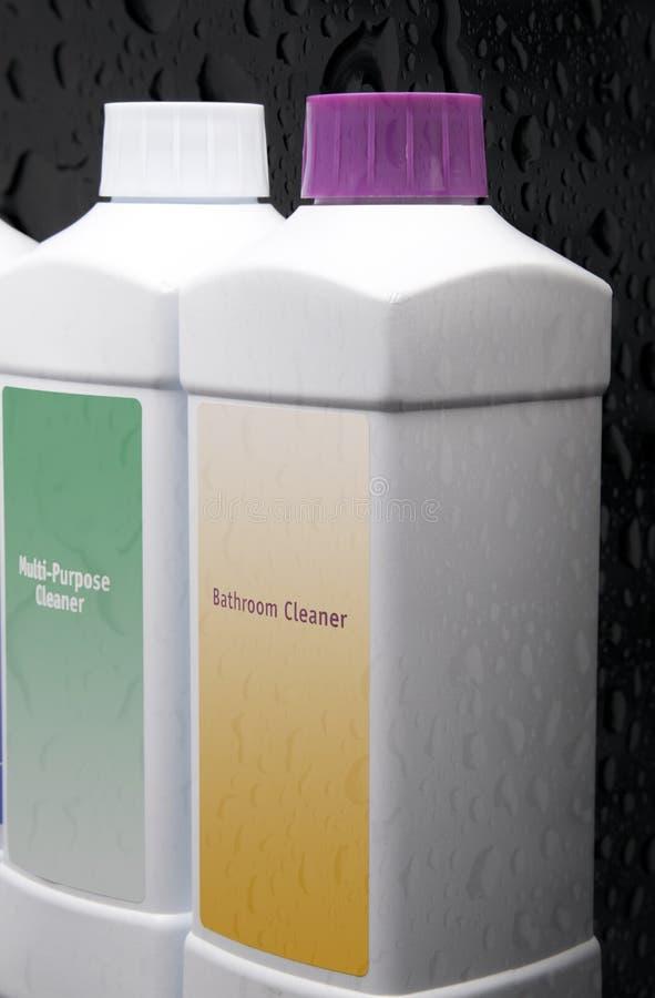 Produtos de limpeza. fotos de stock royalty free