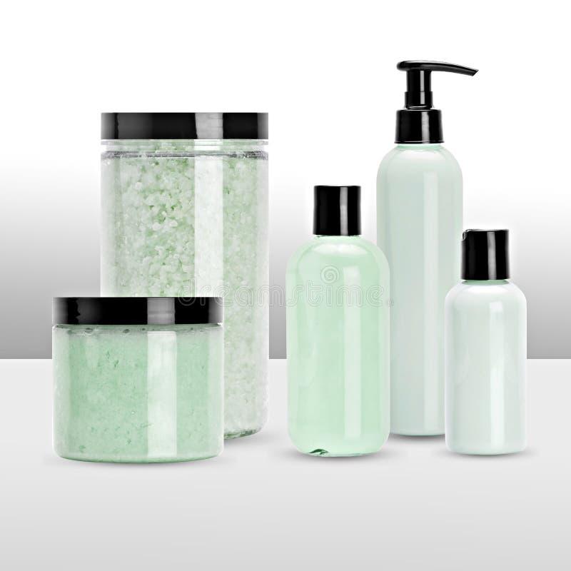 Produtos do banho e de beleza fotos de stock royalty free