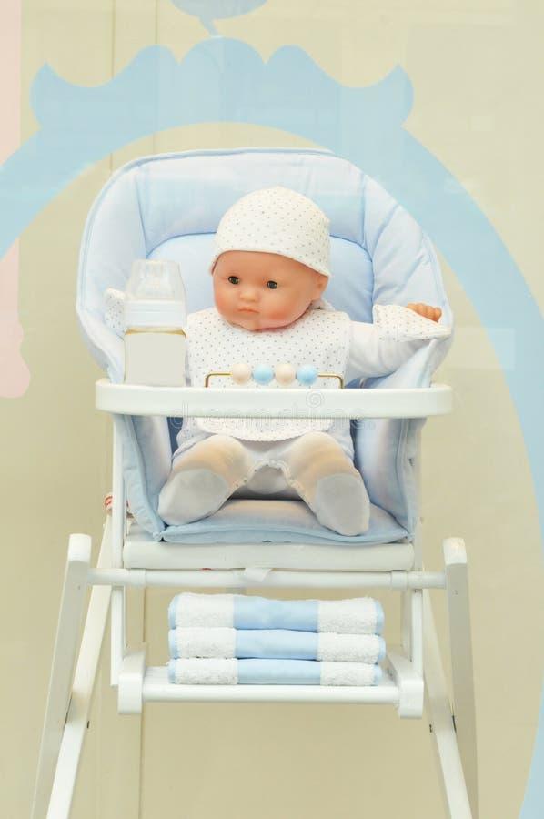 Produtos do bebê fotos de stock