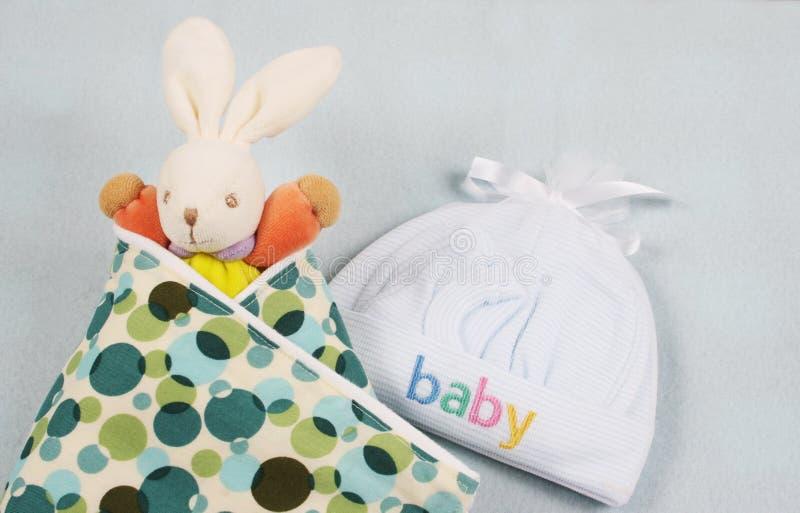 Produtos do bebê imagem de stock