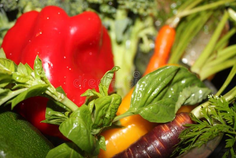 Produtos orgânicos frescos foto de stock royalty free