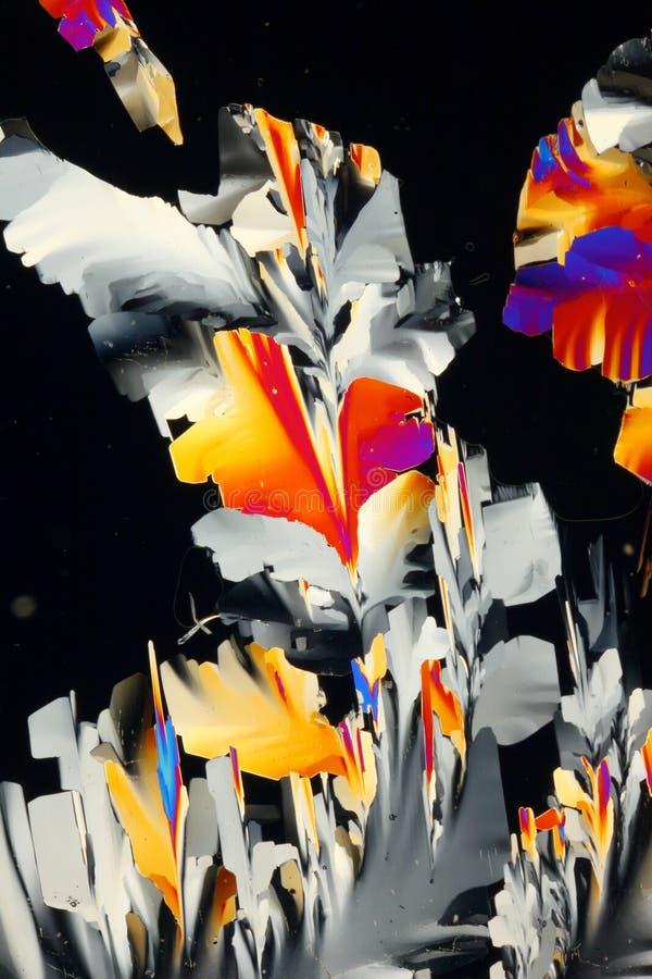 Produtos químicos cristalizados imagem de stock royalty free
