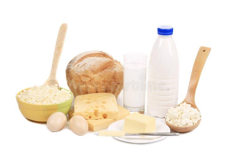 Produtos saudáveis do café da manhã. imagem de stock royalty free