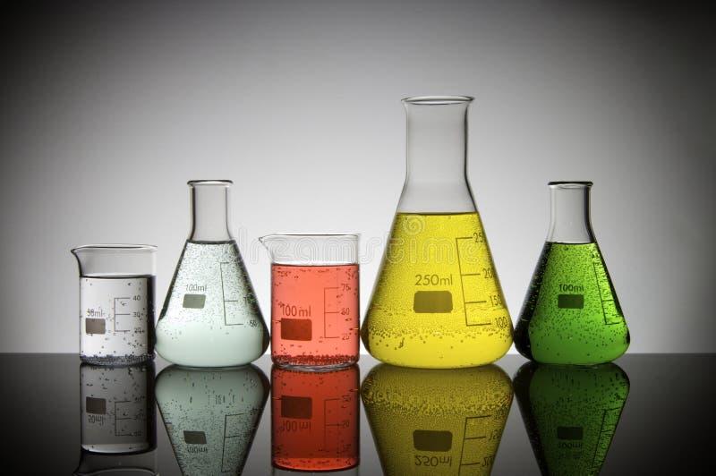 Produtos vidreiros imagens de stock
