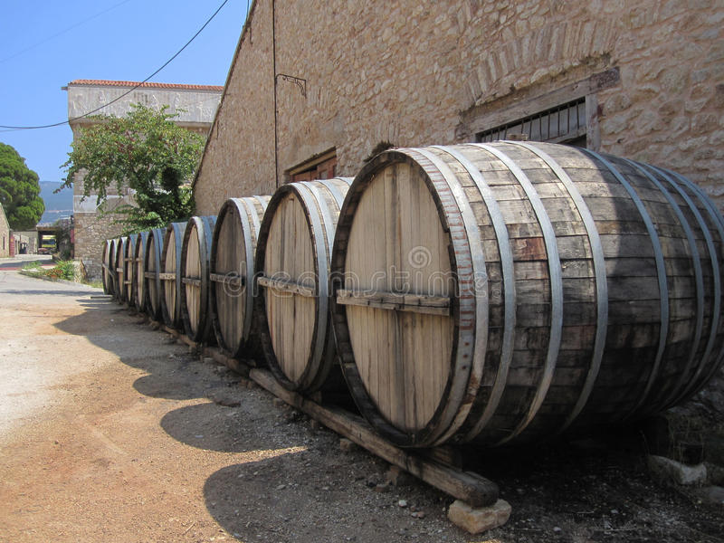 Produzione dei fabbricanti di birra fotografia stock
