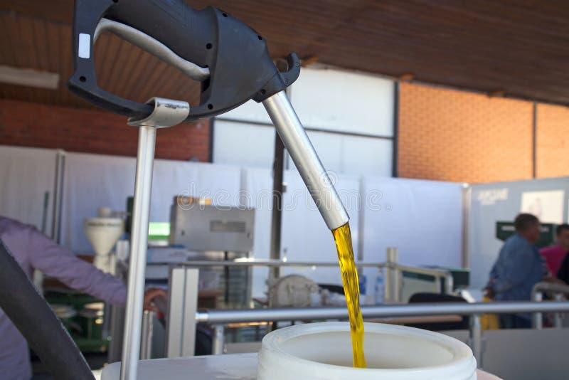 Produzione del biodiesel fotografie stock libere da diritti
