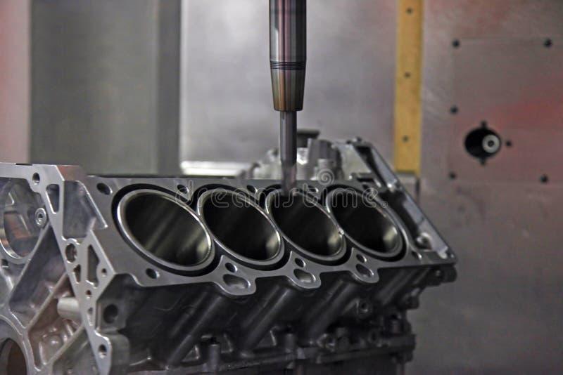 Produzione del motore per veicoli fotografia stock libera da diritti