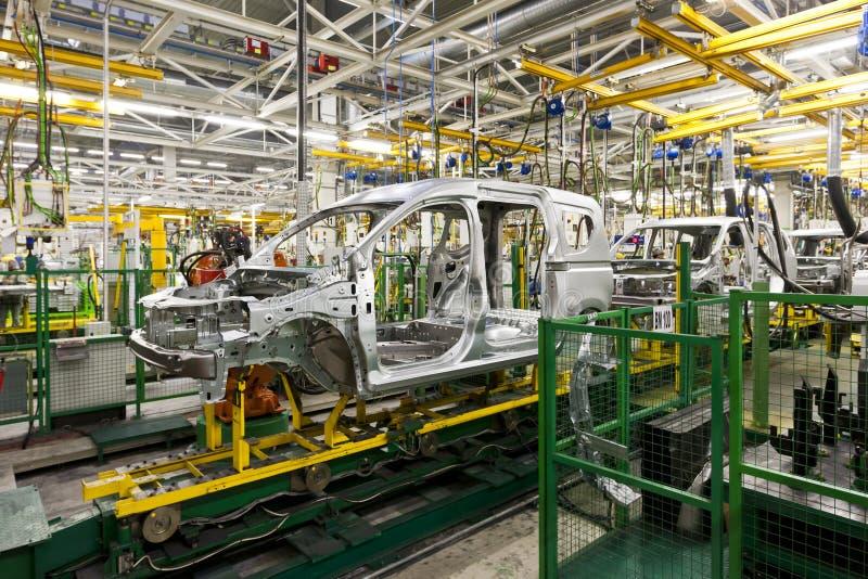 Produzione dell'automobile fotografia stock libera da diritti