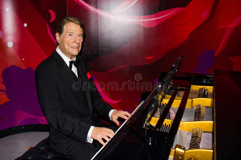 Prof. Udo Jürgens Bockelmann - Madamme Tussaud`s Vienna. Udo Jürgens Bockelmann born Jürgen Udo Bockelmann  was an Austrian-Swiss composer and singer of stock images