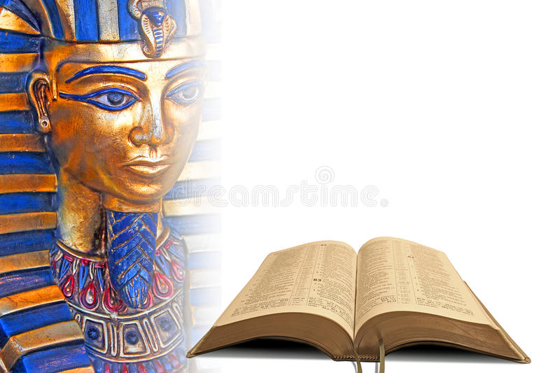 Profecía Egipto de la biblia foto de archivo