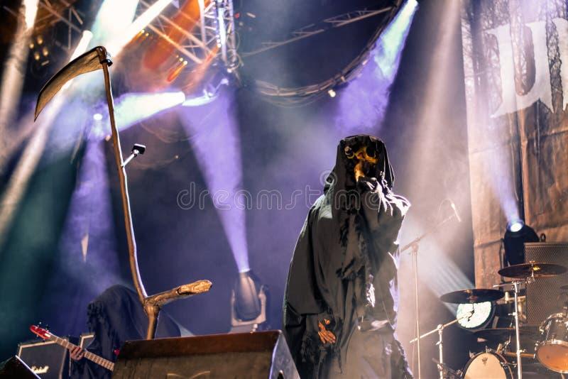 Profecías de los Undead en Hellfest 2016 imagenes de archivo