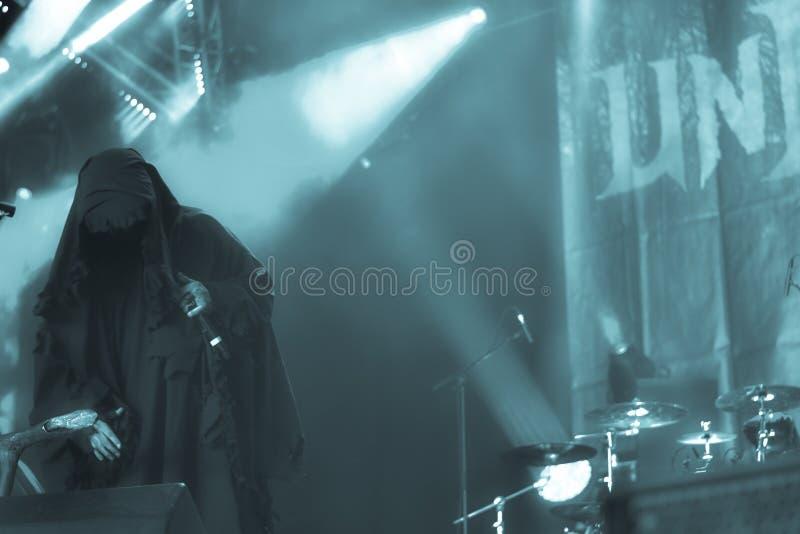 Profecías de los Undead en Hellfest 2016 imagen de archivo