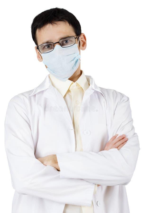 Profesional de la medicina - escéptico fotos de archivo