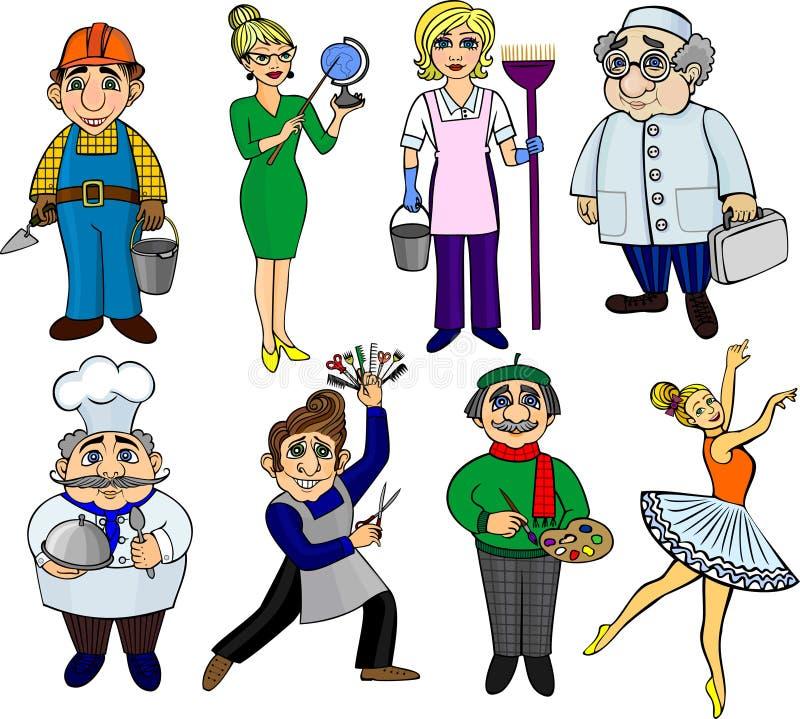 Profesiones libre illustration