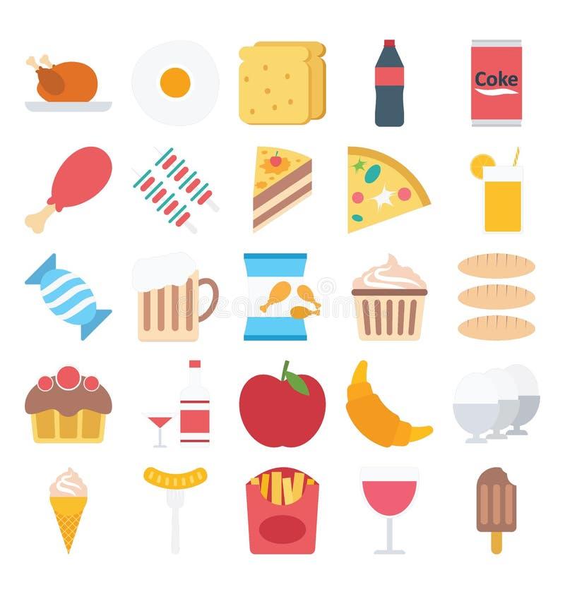 Profesjonalista i ludzie Barwimy Wektorowe ikony ustawiać Które mogą łatwo redagować lub modyfikować ilustracja wektor