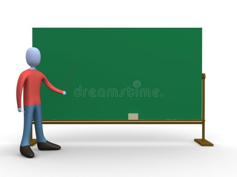 Profesor libre illustration
