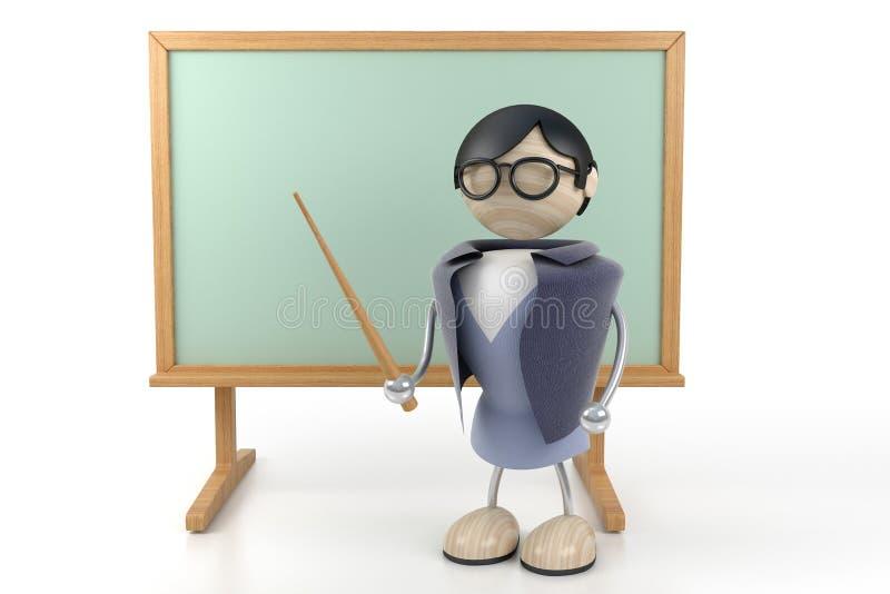 Profesor stock de ilustración