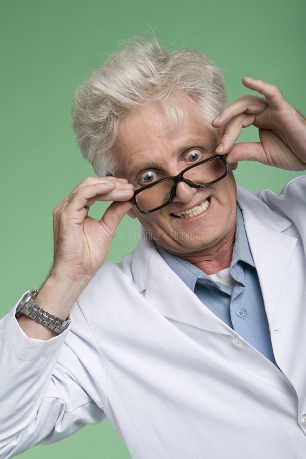 Profesor Bug-Eyed foto de archivo libre de regalías
