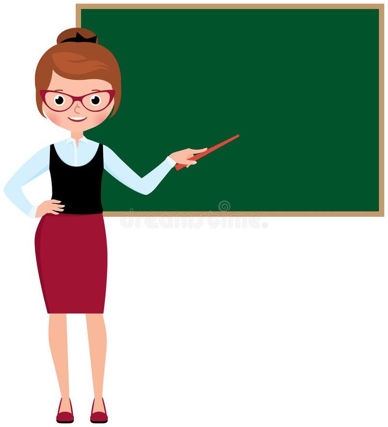 Chica de escuela maestría femenina