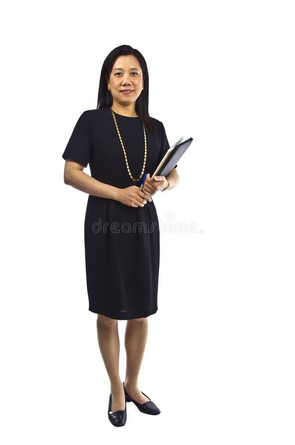Profesor de las mujeres imagen de archivo