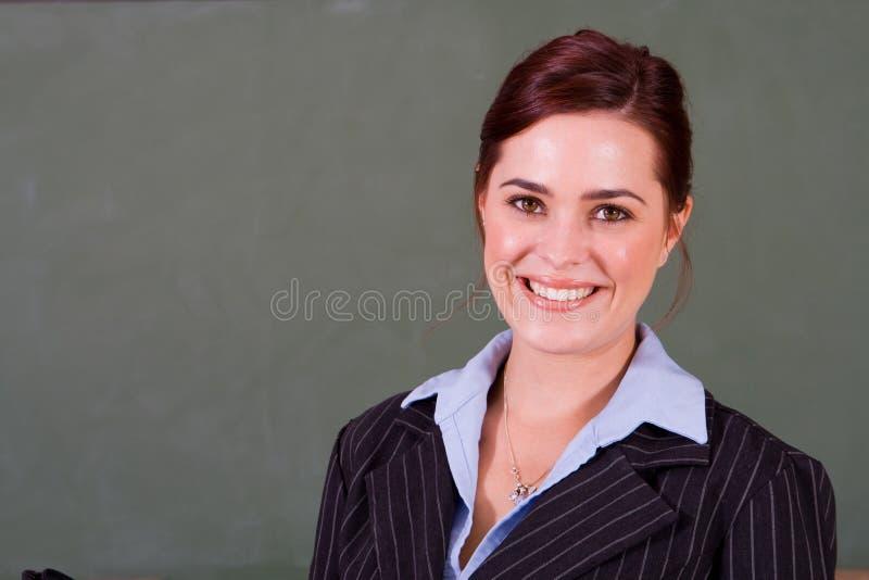 Profesor feliz foto de archivo libre de regalías