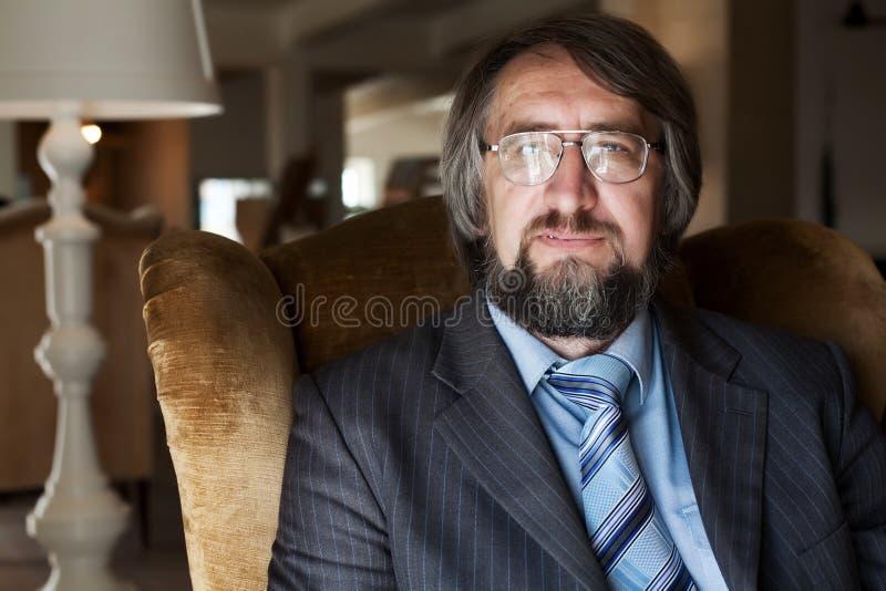 profesora dojrzały senior obrazy stock