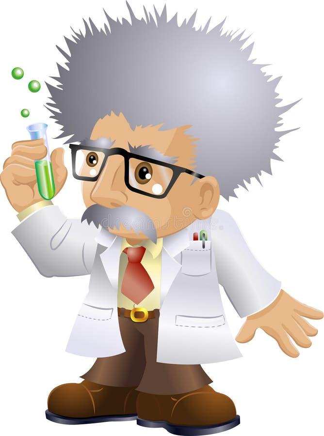 Professeur à noix illustration stock