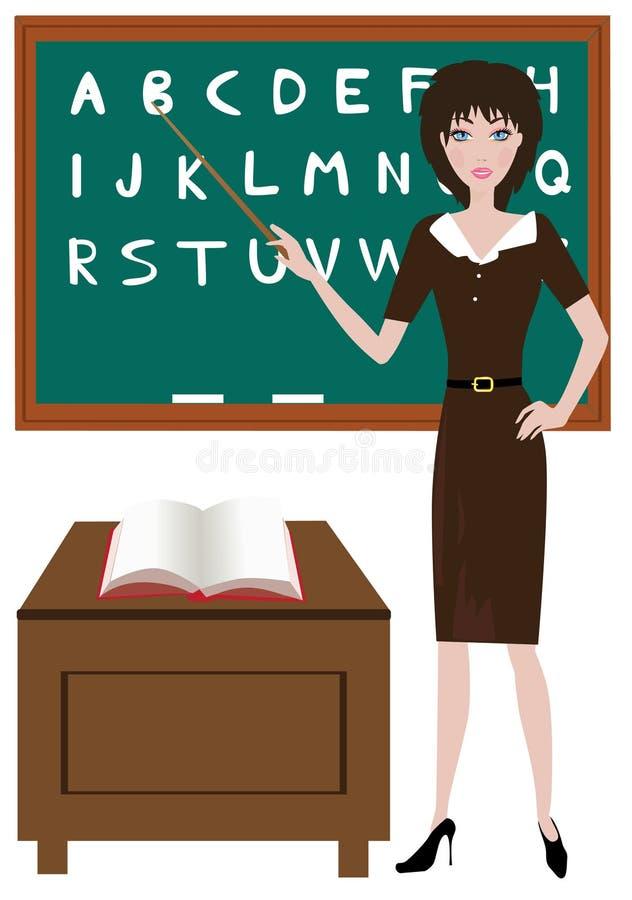 Professeur illustration de vecteur