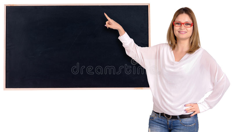 Professeur image libre de droits