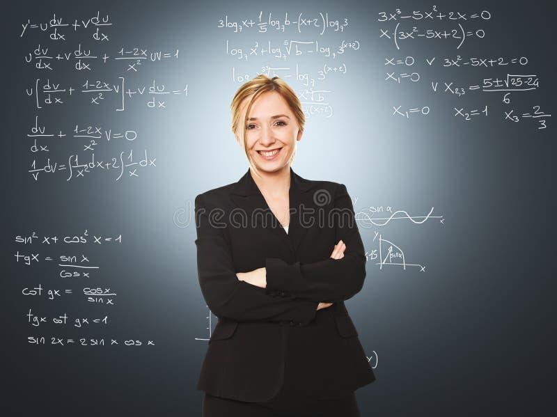 Professeur de femme image libre de droits