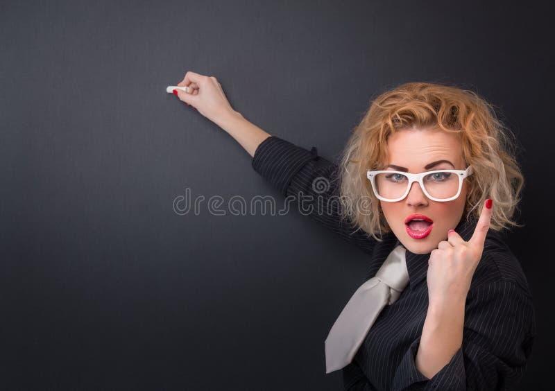 Professeur de femme photographie stock