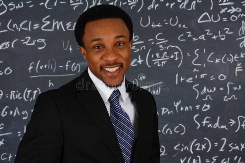 Professeur de maths photographie stock