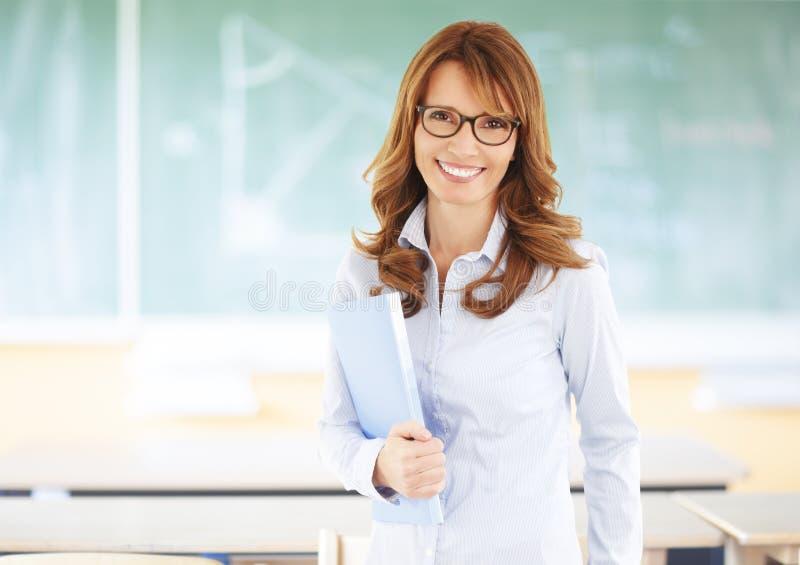 Professeur heureux