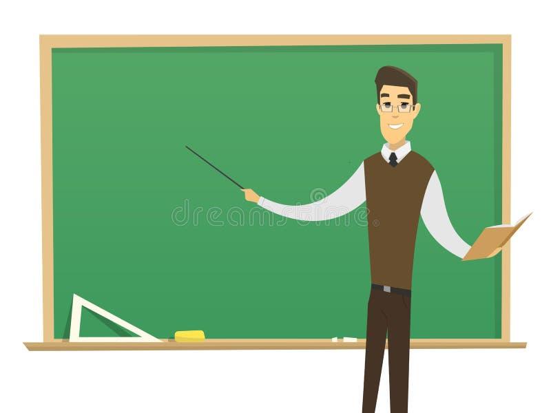 Professeur mâle image stock