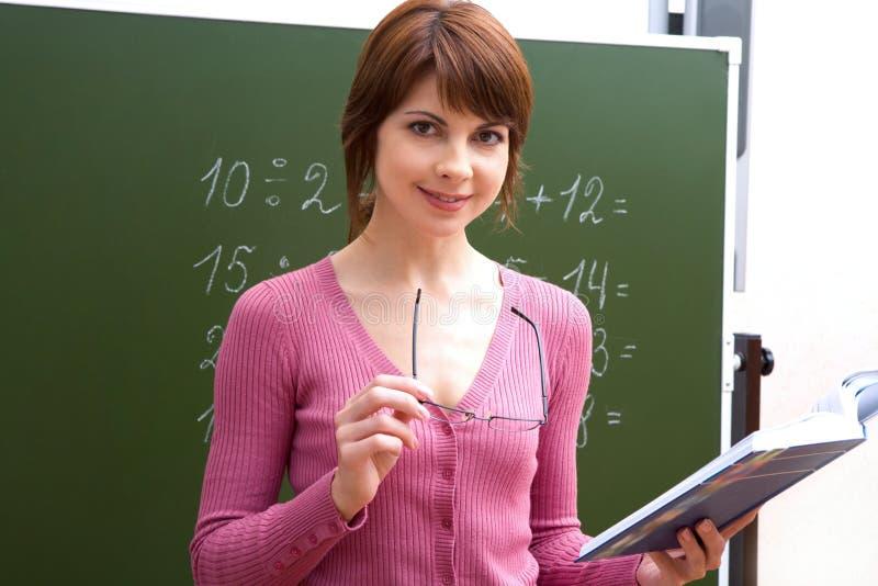 Professeur réussi images stock