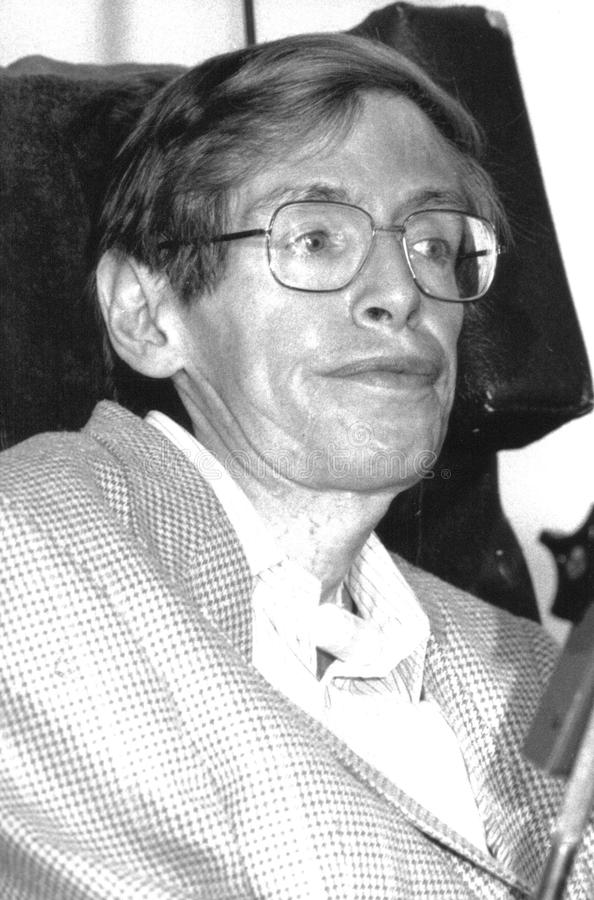 Professeur Stephen Hawking photos libres de droits