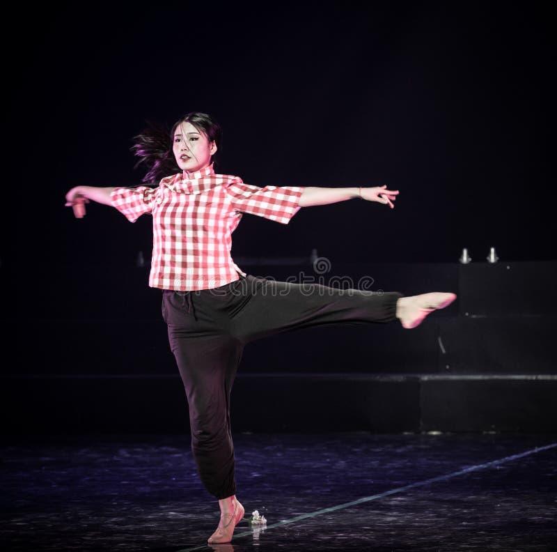 Professeurs de femmes dans le drame de danse du village de montagne 5-Lilac images libres de droits