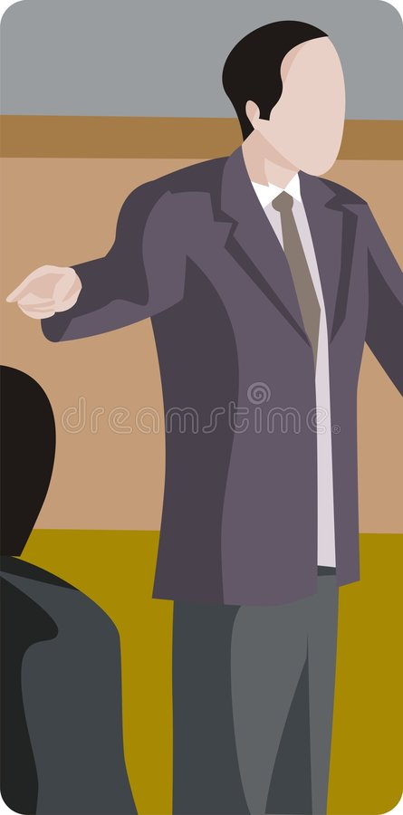 Profession Illustration Series Royalty Free Stock Images