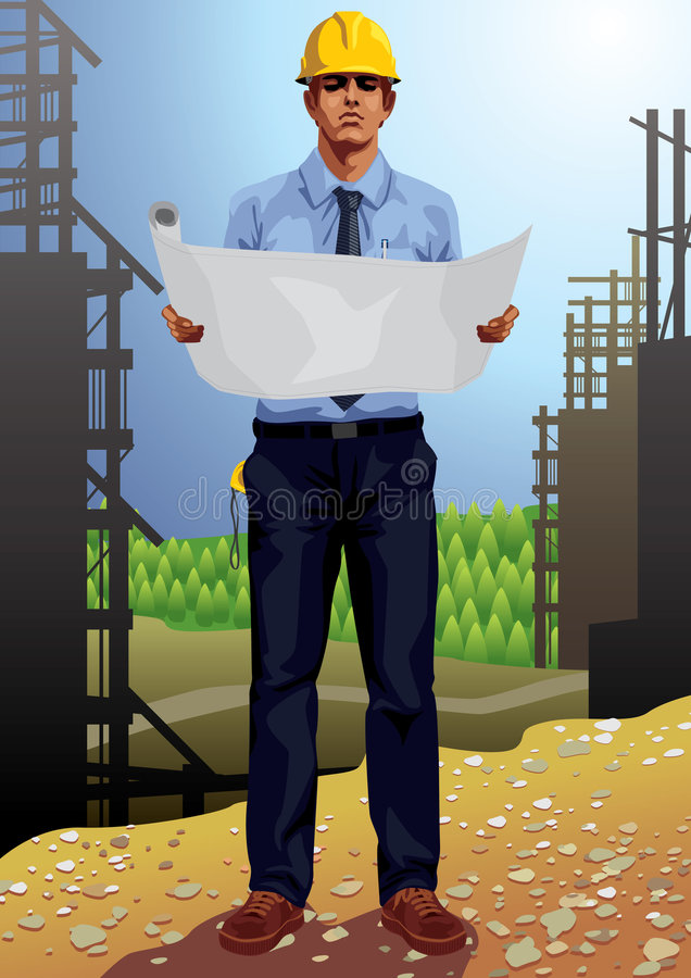 Download Profession set: Architect stock vector. Illustration of corporate - 8172944