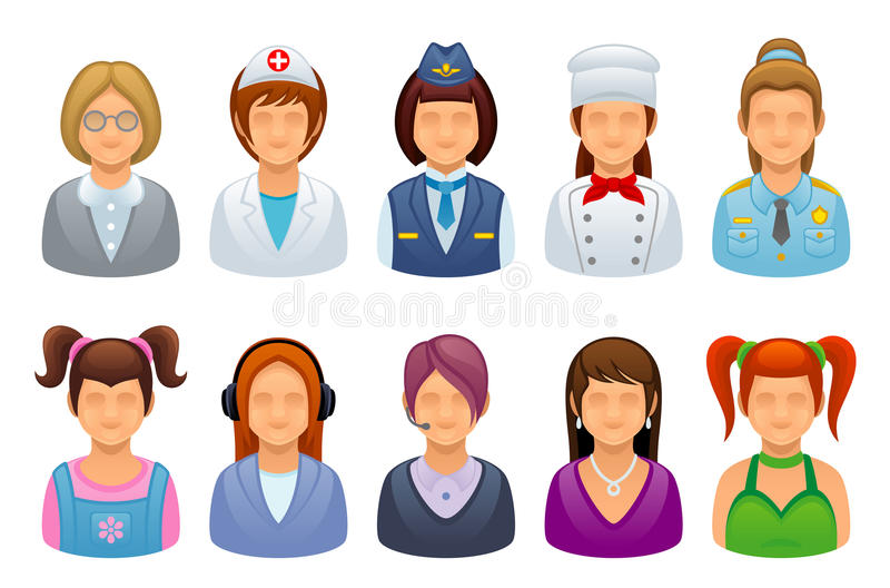 Profession Woman Stock Photo
