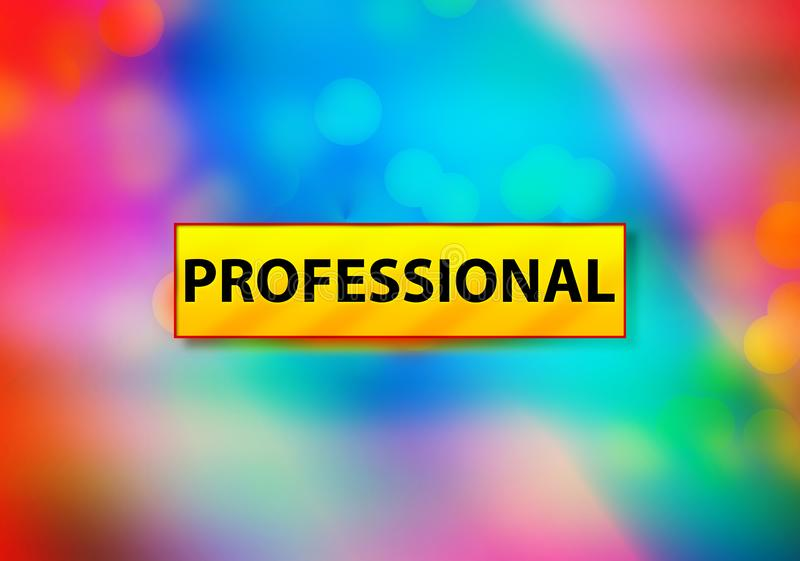 Professional Abstract Colorful Background Bokeh Design Illustration vector illustration