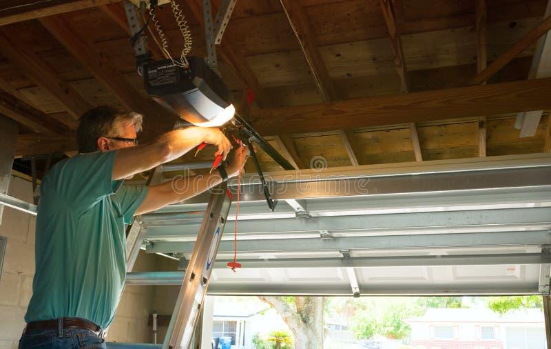 Professional Automatic Garage Door Opener Repair Service Technician