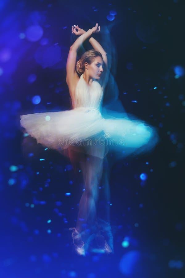 Professional ballet dancer stock image