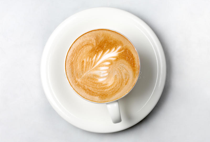 Professional barista coffee cup royalty free stock images