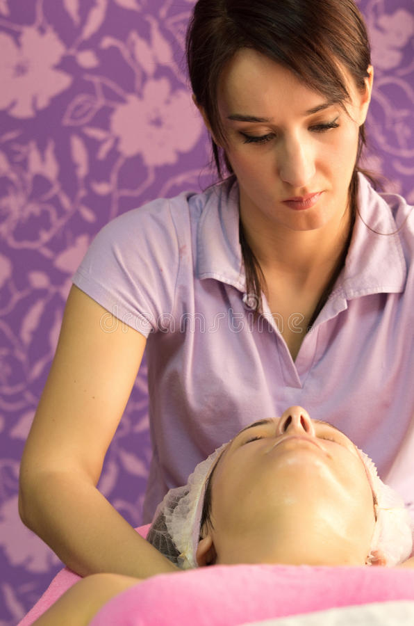 Professional Beauty Care Stock Photos