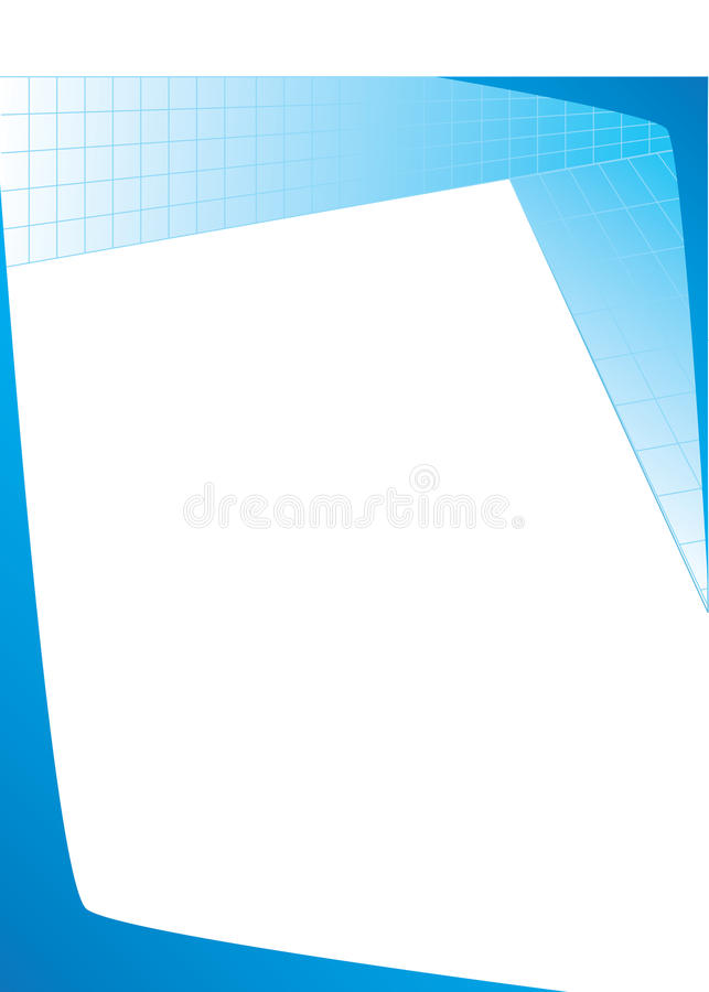 blue cyan gradient circles template poster background stock vector