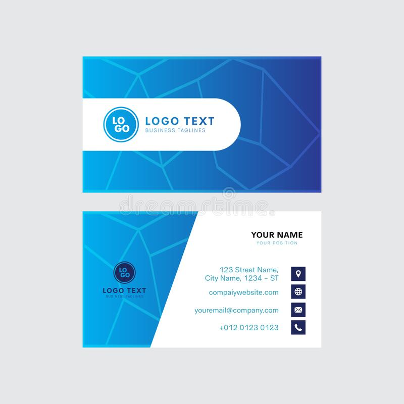 Professional Business Card Vector Design Invitation Card