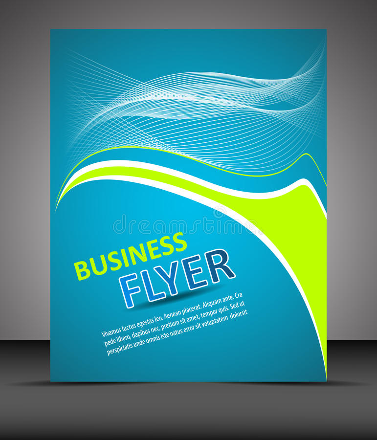 Download Professional Business Flyer Template Or Corporate Banner Stock Vector - Illustration of border, colorful: 41445322