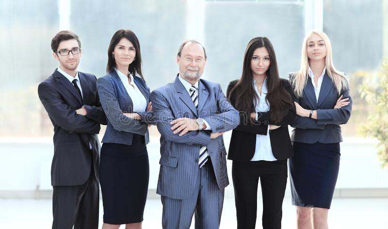 Professional business team. photo in full growth stock photo